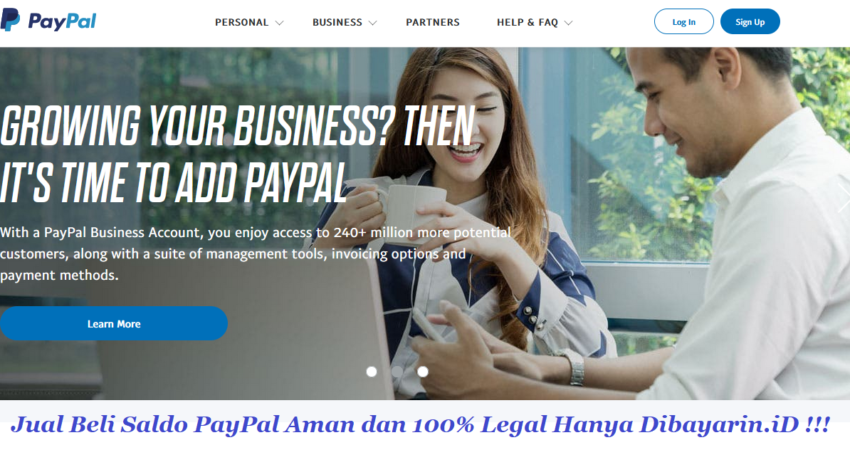 Jual Beli Saldo PayPal
