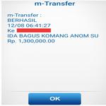 bukti transfer jual saldo paypal i bagus komang