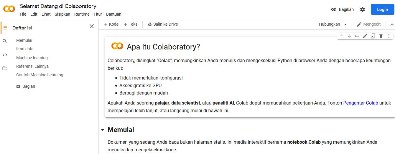 jasa pembayaran google colab pro